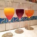 ◆女性に人気♪スパークリングワインを使ったカクテルを多数ご用意!