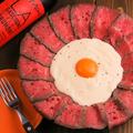 料理メニュー写真肉×チーズの肉フォンデュ