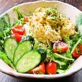 料理メニュー写真タルタル玉子サラダ