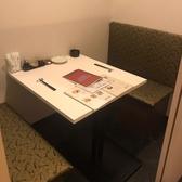 2名テーブルです。