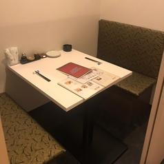 デートにぴったり!2名様テーブル個室です。