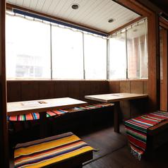 3名テーブル席は1卓のご用意がございます。