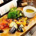 料理メニュー写真旬の窯焼野菜