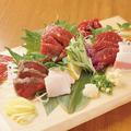 料理メニュー写真【熊本】馬刺し豪快盛り