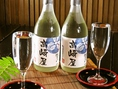 かたろうオリジナルの日本酒、『高崎屋』をご用意!オーナーの実家が高崎屋という名の造り酒屋であったことから、オリジナルの日本酒を製作。