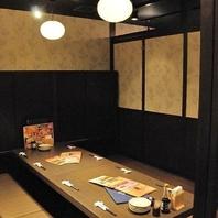 居酒屋うおや一丁大船店は様々なタイプの個室をご用意!