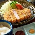 料理メニュー写真【人気No.1】四万十豚のとんかつ定食