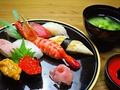 料理メニュー写真特上にぎり寿司