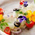 料理メニュー写真千葉産鮮魚のカルパッチョ