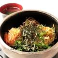 料理メニュー写真石焼ピビンパ(スープ付)