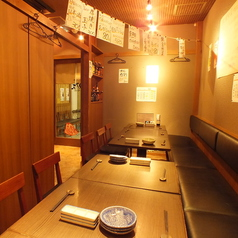 海鮮料理 鮨 魚丁天 蒲田店の雰囲気1