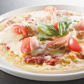 料理メニュー写真ミラノ風ピザ