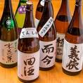 季節限定酒も売り切れ御免でご用意!和食に合うのはやはり日本酒。飯場銀座では日本酒にこだわりました。本店がある愛知県のお酒を筆頭に、和食にあうお酒がいろいろ。誰でも知っている有名なお酒から、なかなか知られていないが本当に美味い『隠れた名酒』まで。当店でしか味わえない味をご用意いたしました。