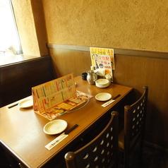 広々としたテーブル席なのでお酒もお料理もたくさん注文できます♪