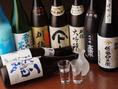 秋田が誇るおいしい地酒多数ございます!