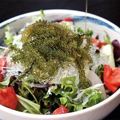 海ぶどうプチプチサラダ