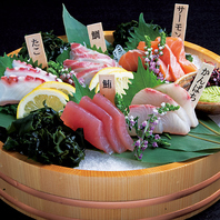 新鮮魚介を毎日入荷♪盛り合わせはお酒の肴に最適です★