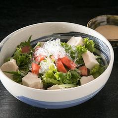 ジーマーミ豆腐サラダ