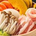 料理メニュー写真旬野菜と三元豚のセイロ蒸し