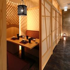 全席個室 焼き鳥と海鮮が美味しい 居酒屋 おとずれ 高松瓦町店の雰囲気1