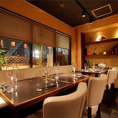 オシャレな空間で鮮やかな京野菜を使ったフレンチでパーティーや宴会はいかがでしょうか。人数・ご予算お気軽にご相談ください。