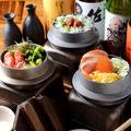 料理メニュー写真【其の五】コースの〆は絶品釜ダシ茶漬け!