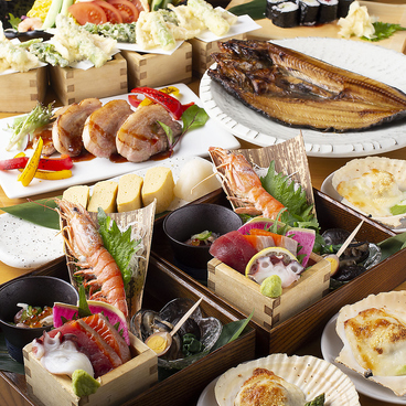 北海道食市場 丸海屋 離のおすすめ料理1