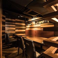 【3F】テーブル席 4名~8名様落ち着いた雰囲気のテーブル席です。ご宴会からカジュアルなお集まりまで幅広くご利用いただけます。