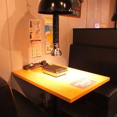 【2名様:ソファー席。デートにも☆】カップルのお客様のご来店も多いんです♪