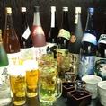 日本酒・焼酎の種類も自信あり!他で飲むことのできないお酒に出会えるかも…☆