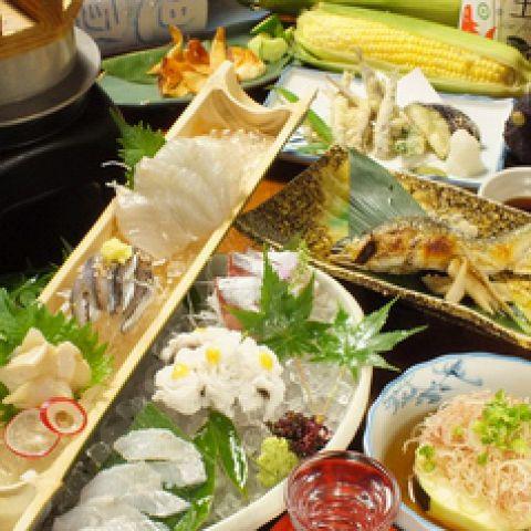 旬の食材をお手軽に…【4月限定 季節のコース】 3000円(8品)