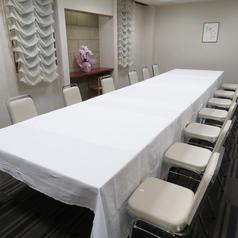 会議室・宴会場「花梨」。少人数の会食・会議にご利用になれます。詳細はお店にお問い合わせください。