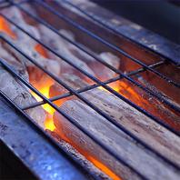 ◆備長炭で炭火焼◆