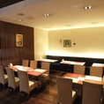 1Fレストラン会場は20名様~のご宴会が可能です。飲み放題付コース3500円~ご用意★その他コース内容のお問い合わせもお気軽に♪