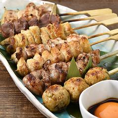 串焼き5種盛り/串焼き7種盛り 各種