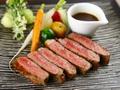 料理メニュー写真特選あか牛サーロインステーキ(150g)