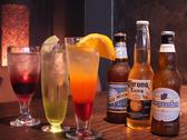 輸入ビールに鮮やかなカクテル。2件目使いにも最適です。