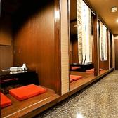各テーブルが壁で仕切られているので、ご宴会等に最適なお席です。