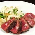 料理メニュー写真牛肉しんたまの炭火焼き 200g