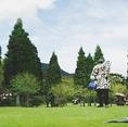巨匠ピカソ箱根彫刻の森美術館は、車で10分!箱根の森美術館、ポーラ美術館も車で10分☆