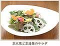 料理メニュー写真京水菜と京湯葉のサラダ