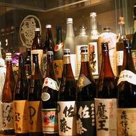 豊富な焼酎・日本酒★プレミアム飲み放題コースあり♪