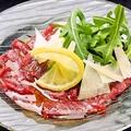 料理メニュー写真熊本直送!馬肉のカルパッチョ