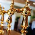 ビールサーバーから注がれるクラフト生ビールは格別です。ビアホール型のレストランならではの満足感が味わえます。