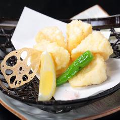 料理メニュー写真カマンベールチーズの天婦羅