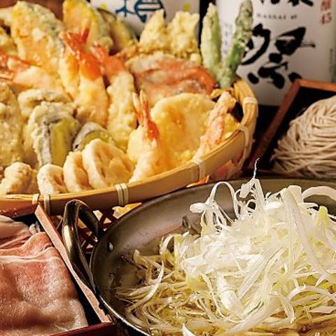 天ぷら 蕎麦 しゃぶしゃぶ 天 てん 岐阜駅前店