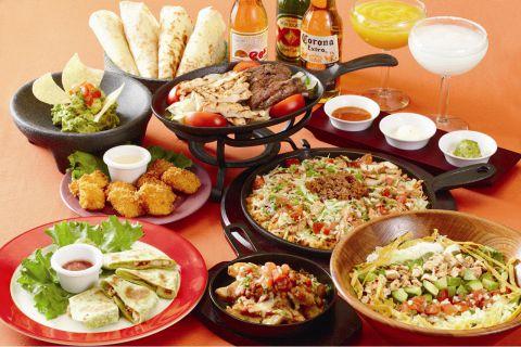 ちょっとお洒落で本格的な、メキシコ料理のレストラン。各種パーティコースも受付中!
