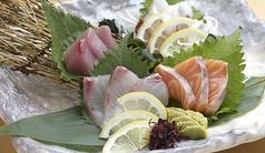 本日のお魚お造り盛り合わせ(4種3貫)