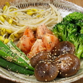 料理メニュー写真ナムル5種盛り