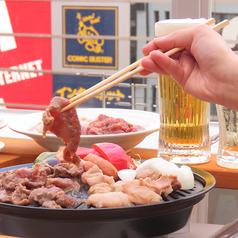 菊膳 ビアガーデンの写真